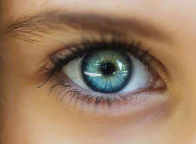 Marketing Focus Eye Close Up